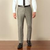 Ben Sherman Grey Donegal Camden Skinny Fit Suit Trouser