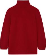 Max Mara Belgio Textured Wool-blend Turtleneck Sweater - small