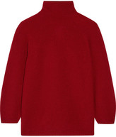 Max Mara Belgio Textured Wool-blend Turtleneck Sweater
