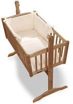 Clair De Lune Marshmallow 2 Piece Rocking Crib Set - Cream