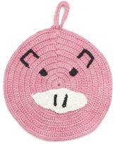 Sur La Table Pink Pig Crochet Pot Holder