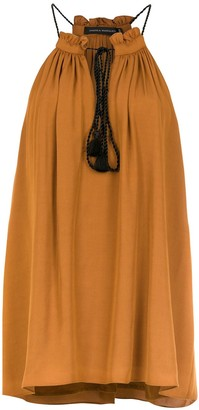 Andrea Marques Drawstring Blouse