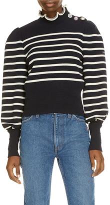 Marc Jacobs x Armor Lux The Breton Stripe Wool Sweater