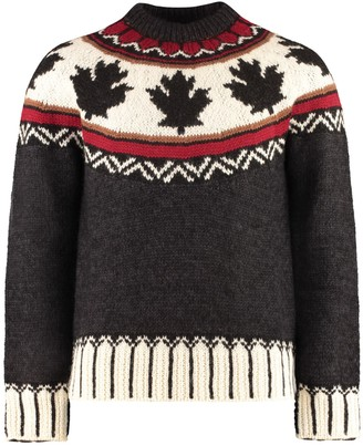DSQUARED2 Crew-neck Wool Sweater