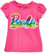 Children's Apparel Network Pink Barbie Tee - Girls