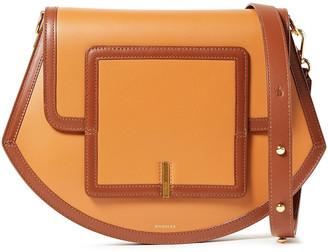 Wandler Alba Frame Leather Shoulder Bag