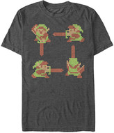 Fifth Sun Men's Tee Shirts CHAR - Legend of Zelda Charcoal Heather Home Tee - Men