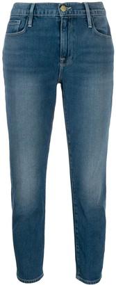 Frame cropped skinny jeans