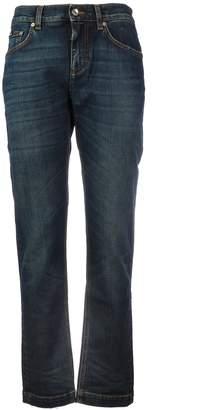 Dolce & Gabbana 5 Pockets Straight Elastan
