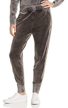Rag & Bone Washed Velour Jogger Pants