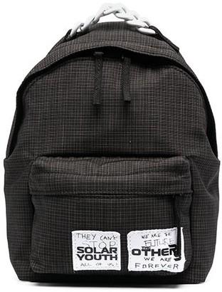 Eastpak X Raf Simons Logo Patch Backpack