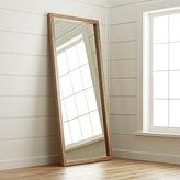 Crate & Barrel Linea II Floor Mirror