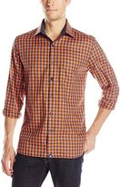 Stone Rose Men's Gingham Long-Sleeve Shirt