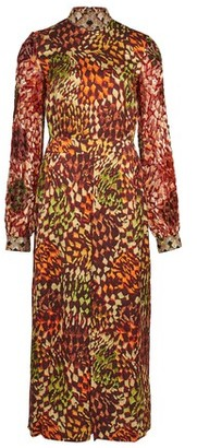 Dries Van Noten Devir velvet dress