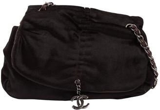 Chanel Brown Pony-style calfskin Handbags
