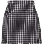 Thom Browne Checked wool skirt