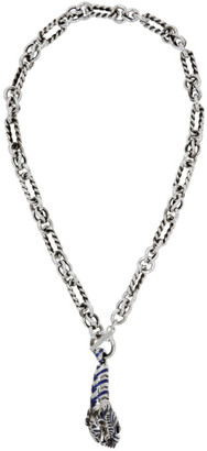 Gucci Silver Dionysus Necklace