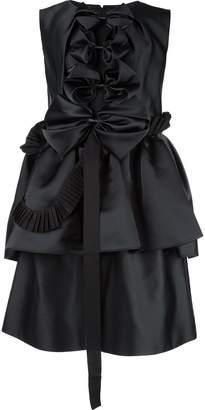 Dice Kayek bow detail dress