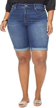 NYDJ Briella Cool Embrace Roll Cuff Denim Shorts