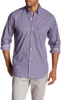 Tailorbyrd Long Sleeve Stripe Print Regular Fit Shirt
