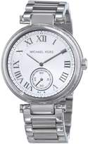 Michael Kors Women's Skylar MK5866 Silver Stainless-Steel Quartz Watch with Dial