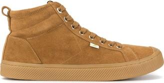 Cariuma OCA High All Camel Suede Sneaker