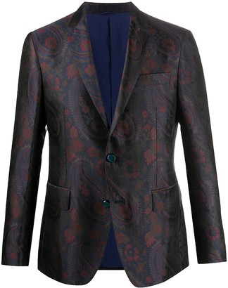 Etro Paisley Single Breasted Jacket