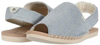 Reef Escape Sling TX (Light Blue/White) Women's Shoes