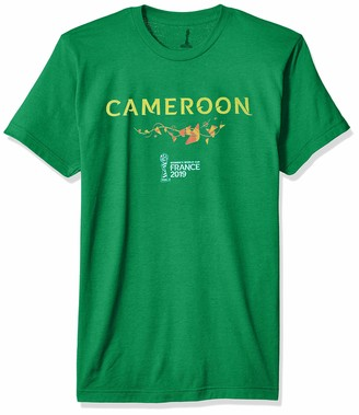FIFA Young Mens Officially Licensed Cameroon Men's Tee Shirt