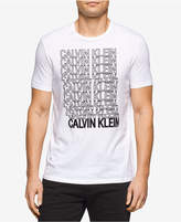 Calvin Klein Jeans Men's Bolded Outline Graphic-Print T-Shirt