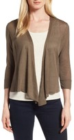 Nic+Zoe Petite Women's '4-Way' Convertible Three Quarter Sleeve Cardigan