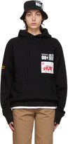 Thumbnail for your product : SSENSE WORKS SSENSE Exclusive 88rising Black Patch Hoodie