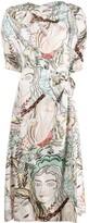 3.1 Phillip Lim Printed Asymmetric Wrap Dress