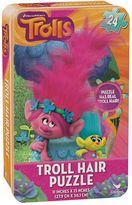 Cardinal DreamWorks Trolls Hair Puzzle Tin by