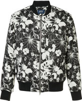 Levi's Made & Crafted - floral print bomber jacket - men - Cotton/Acrylic/Polyester - 2