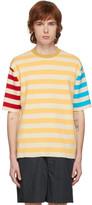 Sunnei Multicolor Knit Striped T-Shirt