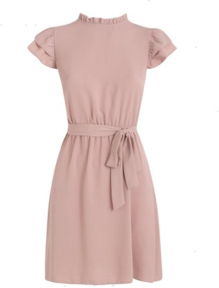 New Look Mid Frill High Neck Dress