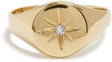Jacquie Aiche Diamond & yellow-gold ring
