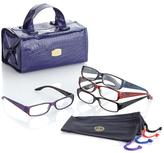 JOY Croco SHADES Readers Set with Better Beauty Case