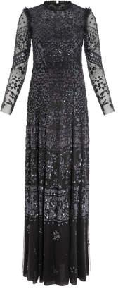 Needle & Thread Aurora Sequin Maxi Dress