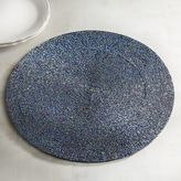 Pier 1 Imports Midnight Tones Beaded Placemat