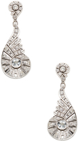 Ila Women's Cielo 18K Sterling Silver, White Sapphire & 2.94 Total Ct. Diamond Drop Earrings