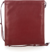 The Row Medicine pouch leather cross-body bag