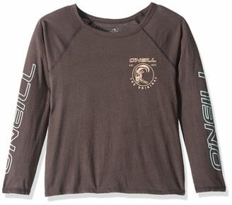 O'Neill Women's Emporium Long Sleeve Graphic Screen Print Tee Shirt