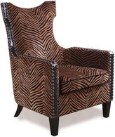 Uttermost Kimoni Wing Back Armchair