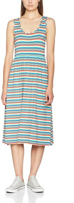 Tommy Jeans Women's Stripe Midi Sleeveless A-Line Dress