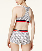 Tommy Hilfiger TOMMYXGIGI Contrast-Trim Active Crop Top