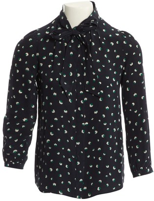 Marc by Marc Jacobs Navy Silk Top for Women
