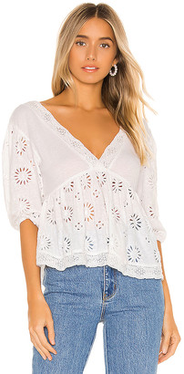 Free People Sweeter Side Blouse