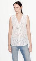 Equipment Sleeveless Adalyn Silk Shirt